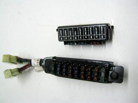 Boitier fusibles TRIUMPH 1200 TROPHY type: T345 an: 1998