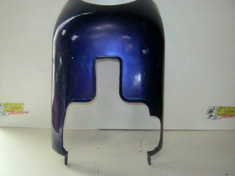 Spoiler,sabot moteur bleu PIAGGIO TYPHOON année:2000