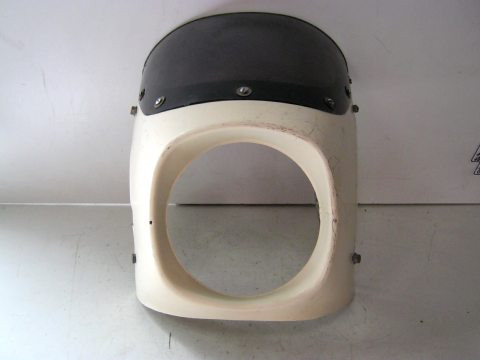 t te de fourche moto pour phare rond. Black Bedroom Furniture Sets. Home Design Ideas