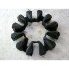 Amortisseur de couple,silent bloc de roue arriére KAWASAKI 600 KLR année:1986 type:KL600A