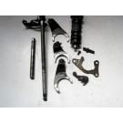 Arbre de sélecteur,fourchette et barillet de boite à vitesses HONDA CB 900 BOL D'OR type:SC01