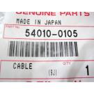 Cable KAWASAKI ZX10R année:2010 référence:54010-0105
