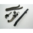 Chaine, patin, tendeur distribution HONDA 125 NX an 1989 type SD12