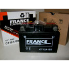 Batterie moto 12 Volts FRANCE EQUIPEMENT CT12A-BS