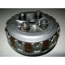 Cloche,noix,plateau de pression,disque lisse et garni d'embrayage HONDA 650 DOMINATOR année:1988 type:RD02
