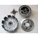 Cloche,noix,plateau de pression d'embrayage HONDA 200 MTX année:1993 type:MD07