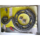Kit chaine FRANCE EQUIPEMENT YAMAHA 250 YZ année:1981-1984 type:4V3,5X5,24Y,43N  ref:34900.762